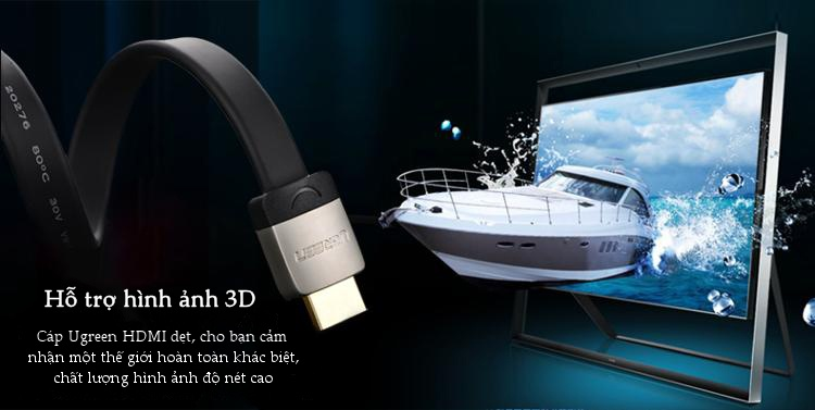 Cáp HDMI 2.0 1,5M Ugreen 10262 2k * 4k