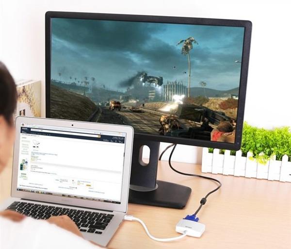 Cáp Mini Displayport to HDMI + VGA Ugreen UG-10427 chính hãng