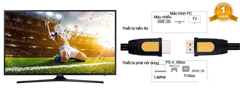 Cáp HDMI 1M Ugreen chính hãng