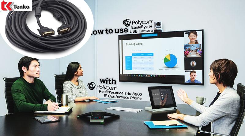 Cáp HDCI - Cáp Camera HDX Polycom 3m