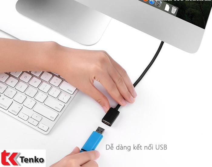 Cáp USB 2.0 nối dài 2m Ugreen UG-10316