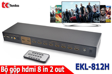 Bộ Gộp HDMI 8 In 2 Out hỗ trợ 4k x 2k EKL-812H