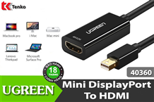 Cáp Mini Displayport ra HDMI UGREEN 40360-40361