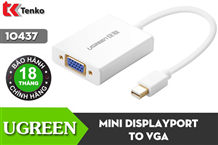 Cáp Mini Displayport to VGA + Audio Ugreen 10437