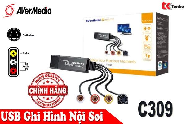 Card Ghi Hình USB 2.0 Avermedia C039