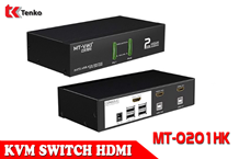 Switch KVM HDMI 2 Cổng MT-VIKI MT-0201HK