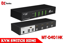 Switch KVM HDMI 4 Cổng MT-VIKI MT-0401HK