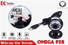 Webcam Live-Stream Có Mic Omega C928