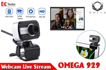 Webcam Live-Stream Có Mic Omega C929